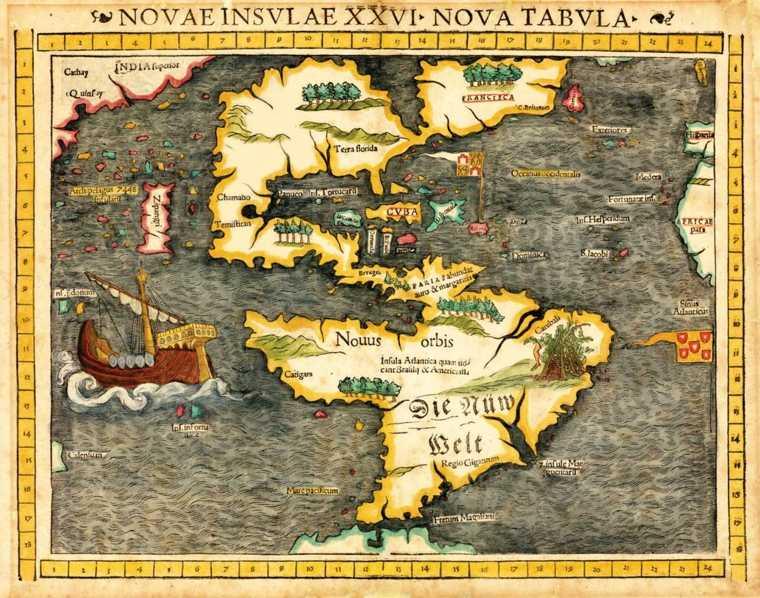 mapa de la conquista