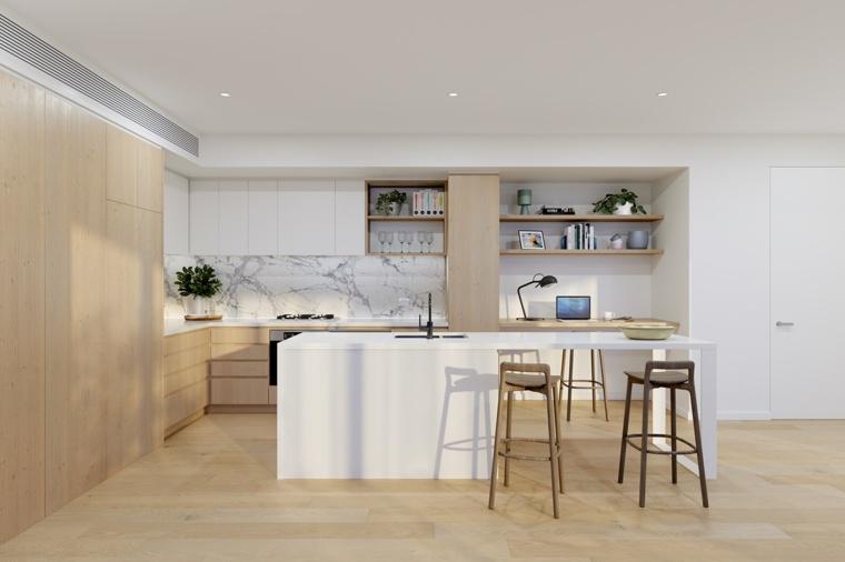 marmol-madera-ideas-diseno-cocina