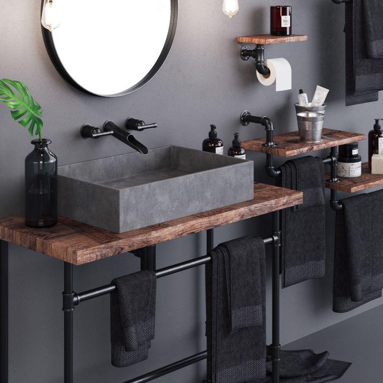 muebles-bano-oscuro-diseno-industrial