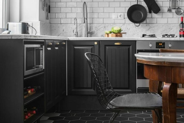 muebles-negros-cocina-estilo-ideas