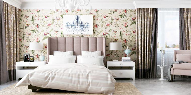 papel-pared-dormitorio-ideas-casa