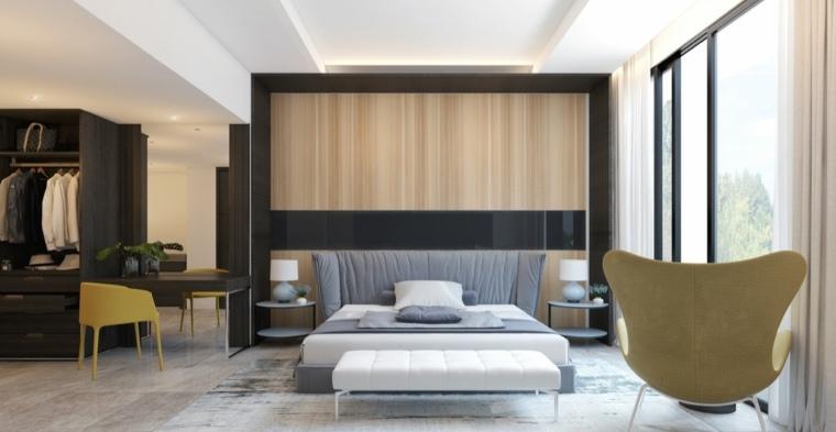 paredes decoradas estilo minimalista