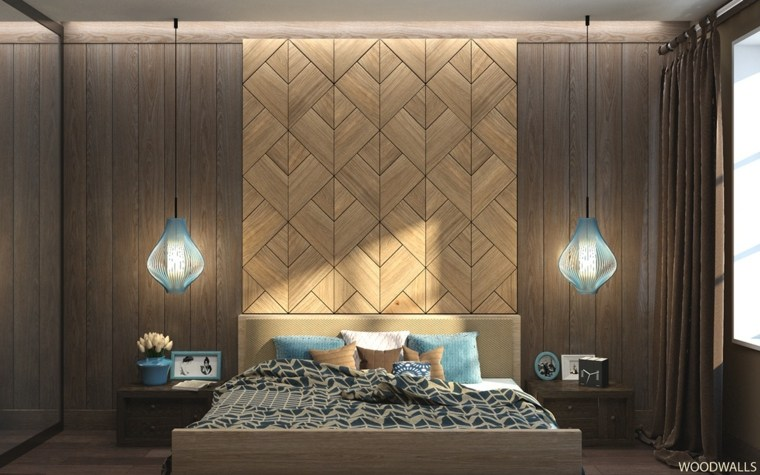 paredes decoradas patron geométrico