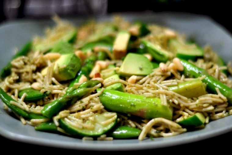 pasta verduras