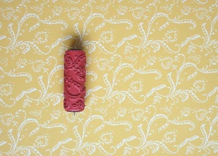 pintar paredes con rodillo