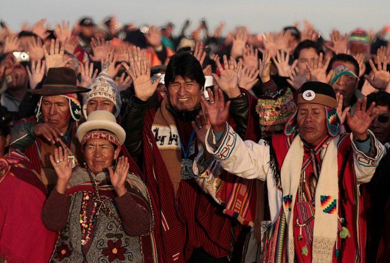 población indigena América