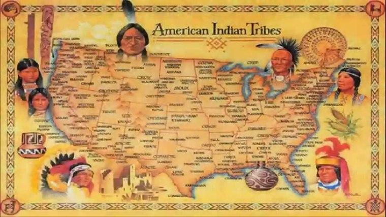 población indigena mapa