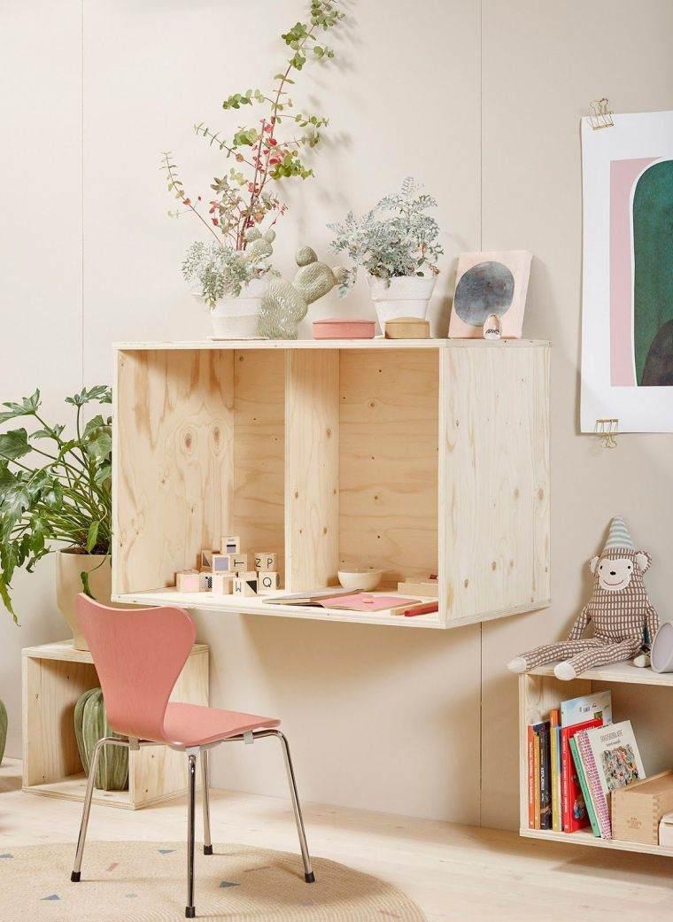 recamara-ninos-ideas-diseno-muebles-madera