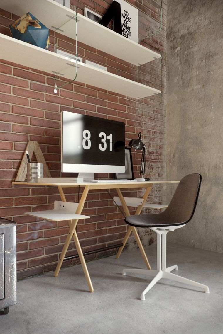 revestimiento paredes interiores-oficina