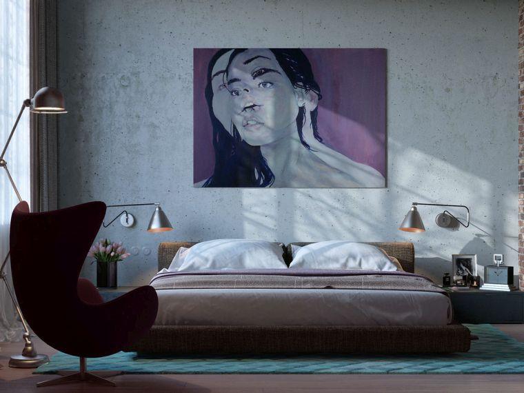 revestimiento paredes interiores-tendencia-dormitorio