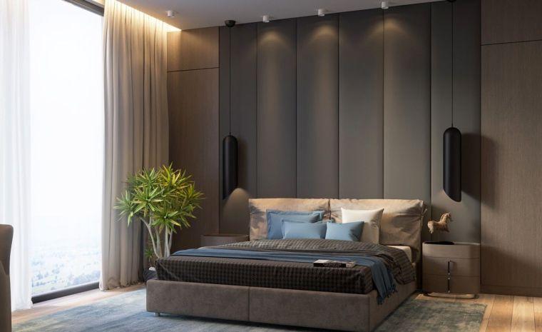 revestimiento paredes interiores-textura-tela