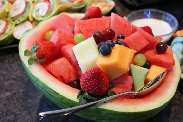 sandia frutas