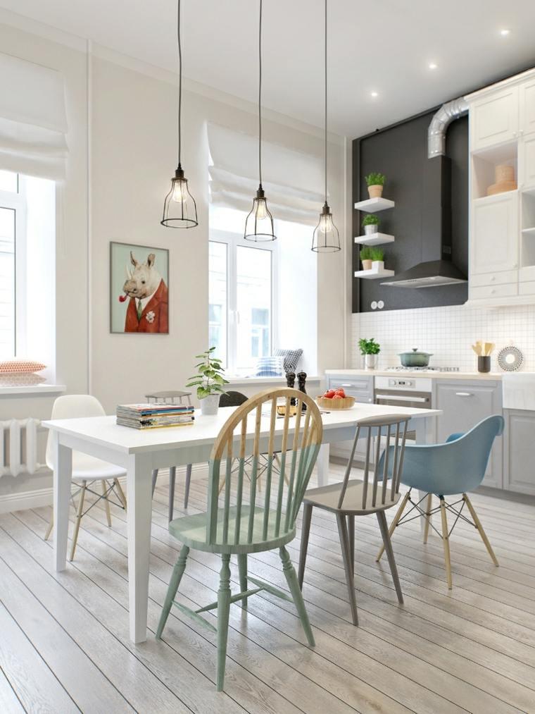 tendencias-color-2019-estilo-escandinavo-sillas