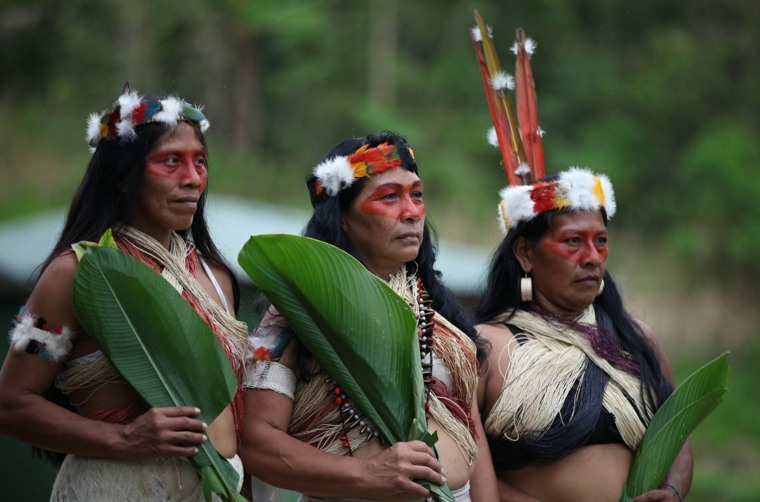una tribu indígena