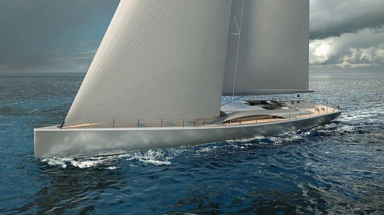 El velero Pura diseñado por la empresa holandesa Royal Huisman