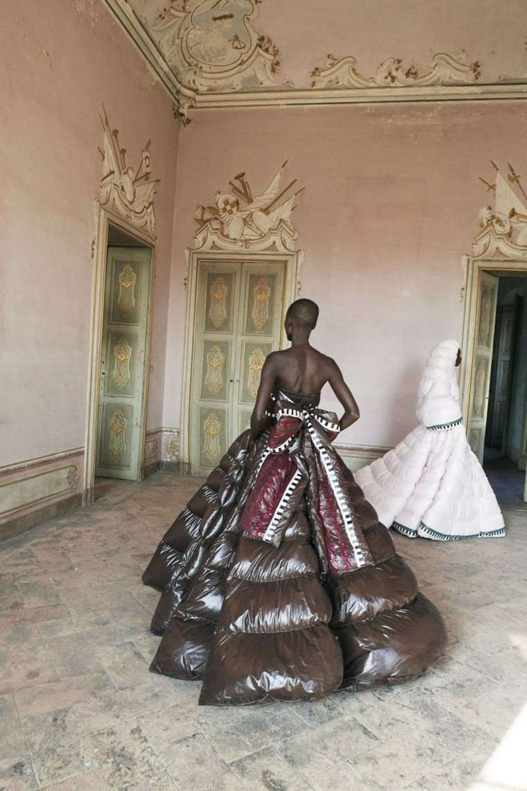 vestido puffer-piccioli-milan-semana-moda