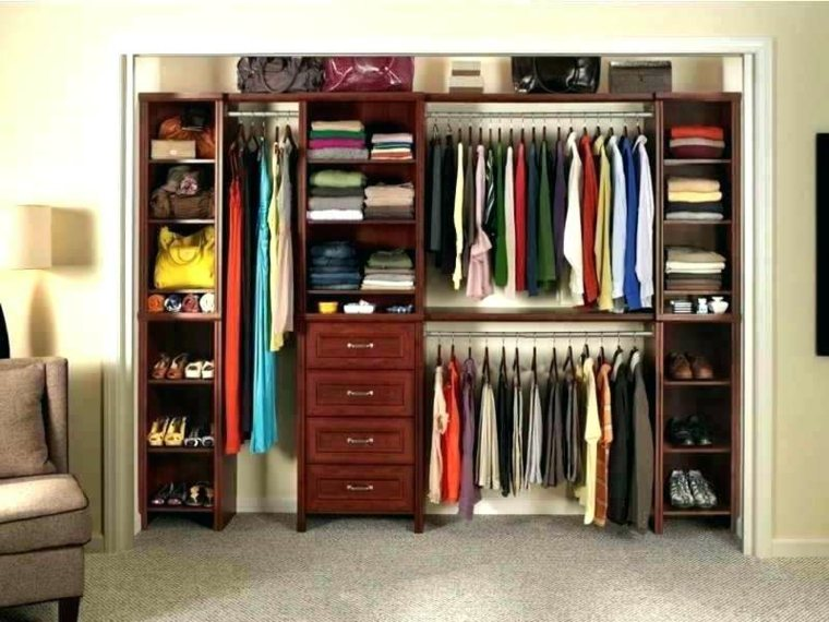 vestuario organización para almacenaje