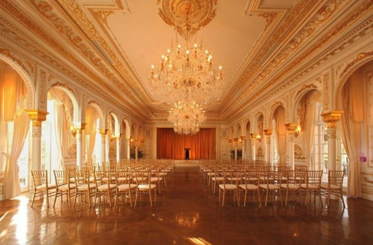 Mar-a-Lago Palm Beach  Florida sala