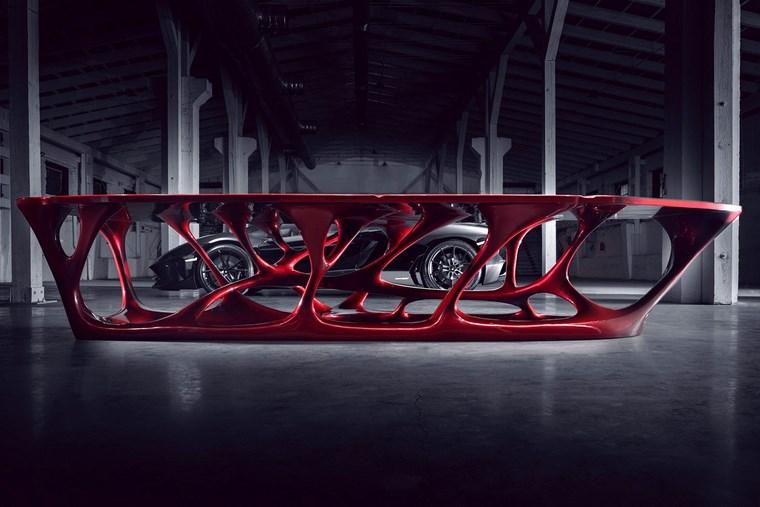 imprimir 3D mesa llamada Rex Axon