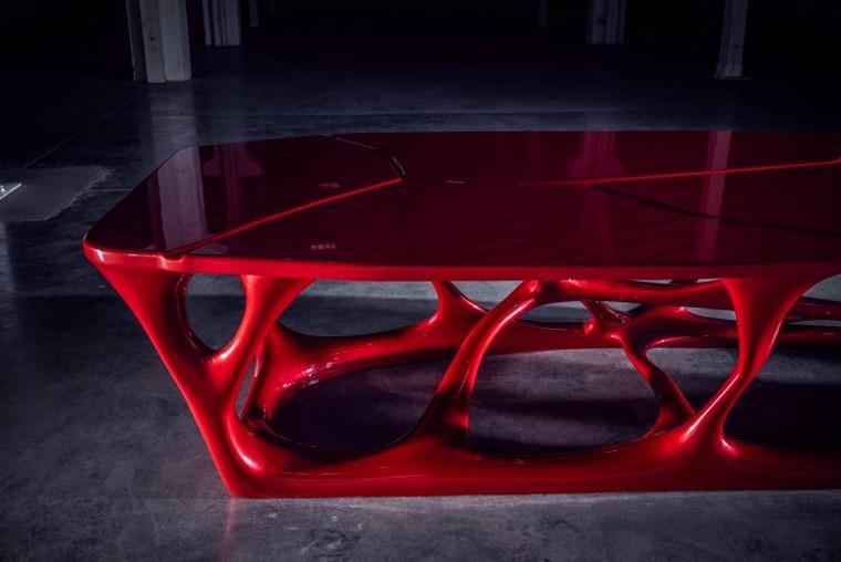 Mesa de reuniones impresa en 3D