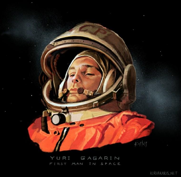 Yuri Gagarin 1961