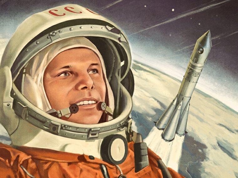 Yuri Gagarin dibujo