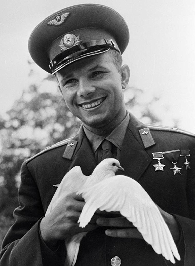 Yuri Gagarin paloma blanca