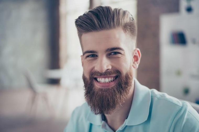 barba corta de moda