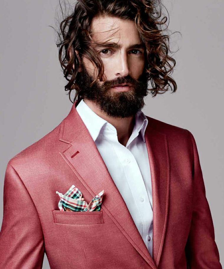 barba-moderna-2019-cabello-estilo-longitud-media