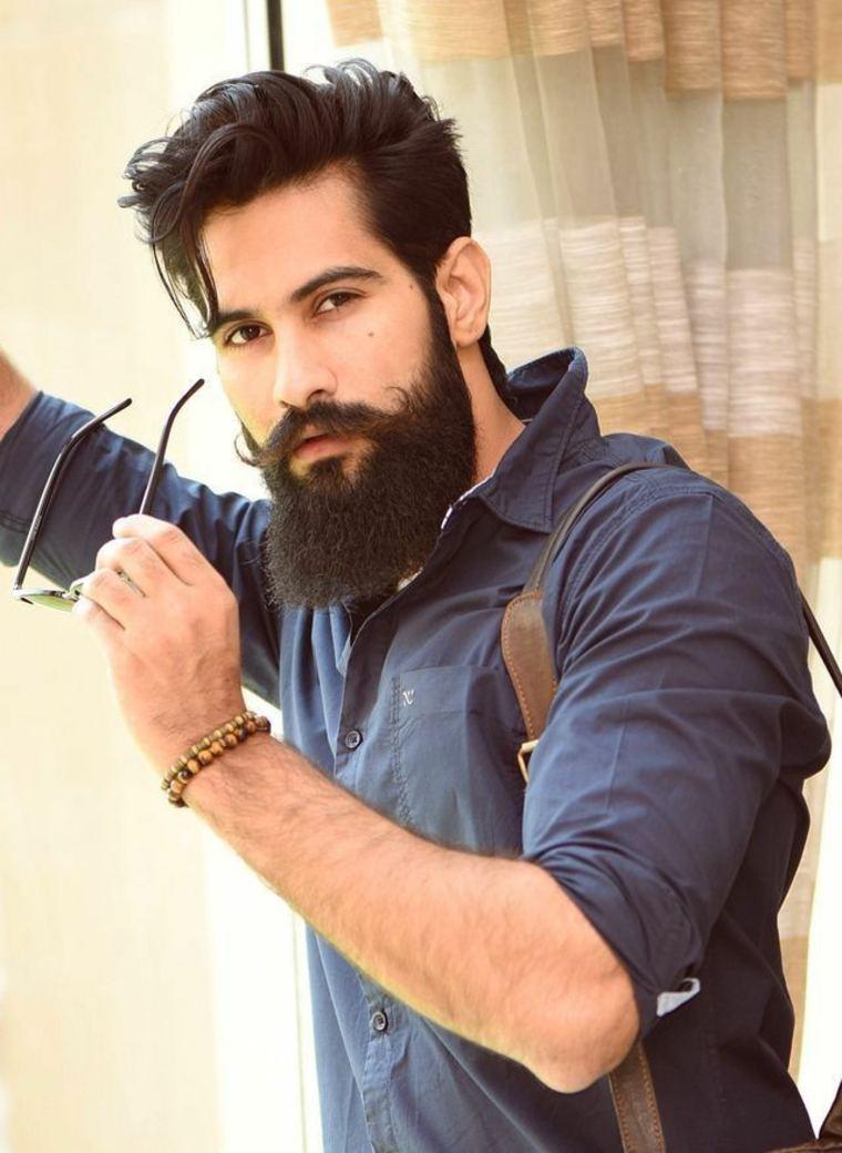 barba para cara redonda