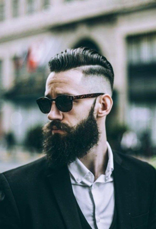 barba y peinado modernos