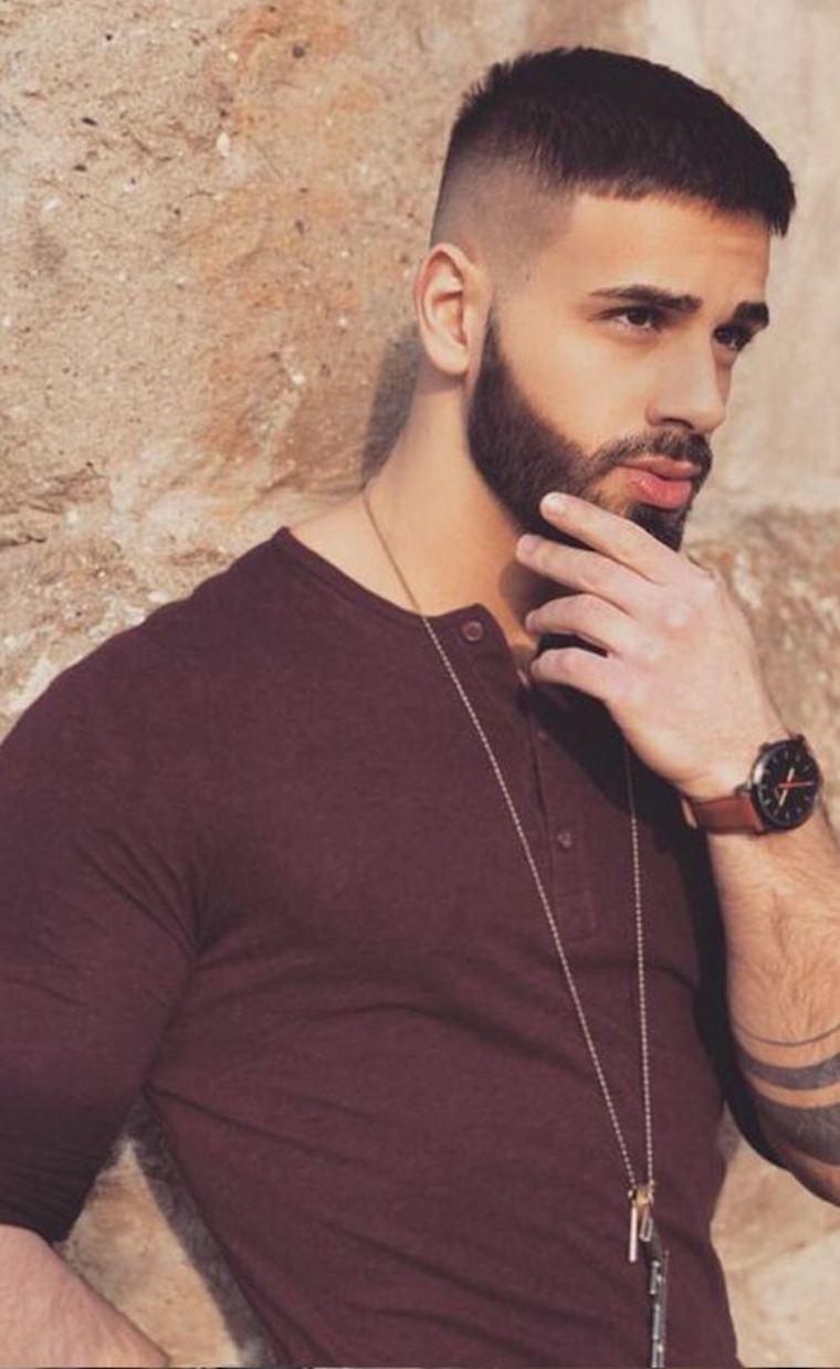 barbas para caras redondas