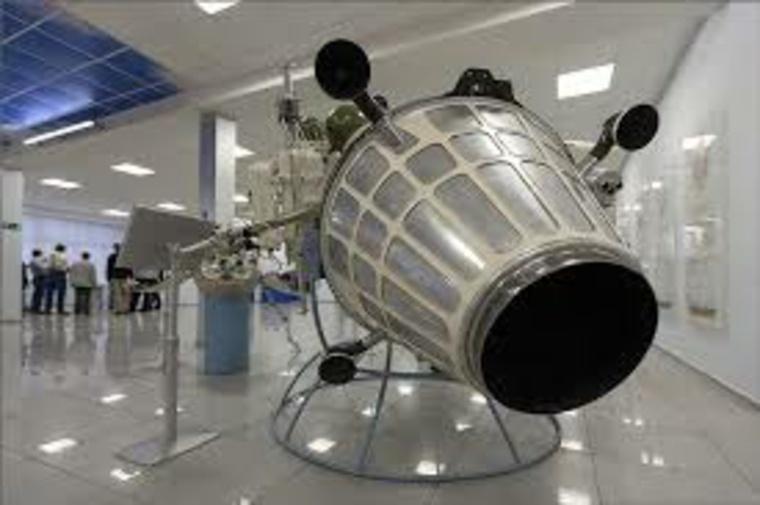cápsula espacial museo