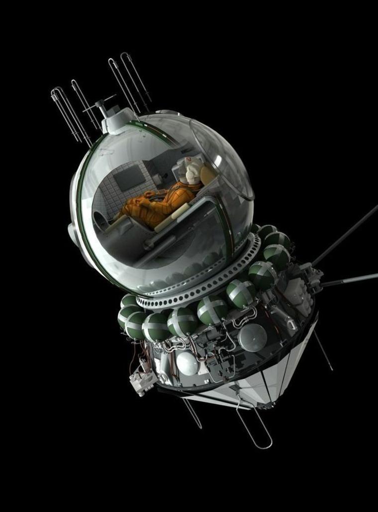 cápsula espacial