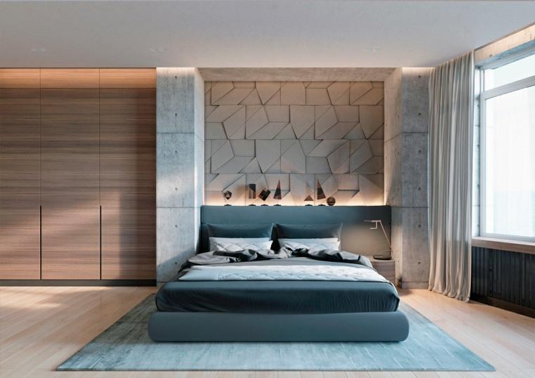 cabeceras modernas de concreto