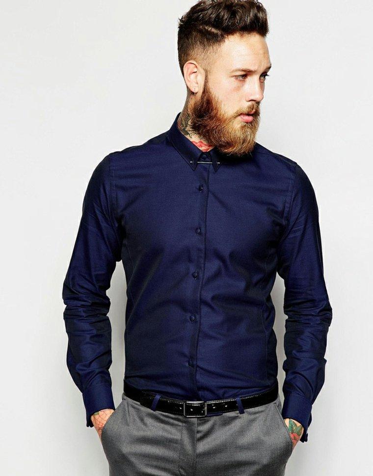 cabello-rizado-pompadour-hombre-barba