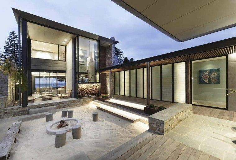 casa con jardín-diseno architecture-saville-isaacs-ideas
