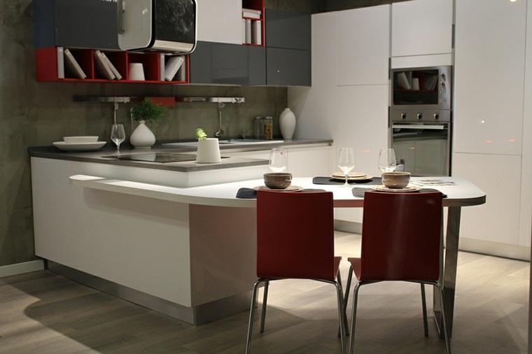 cocina moderna encimera