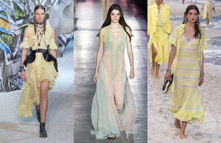 Alexander McQueen, Alberta Ferretti, Chanel