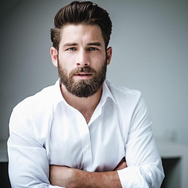 corte-pelo-barba-pompadour-barba-corta