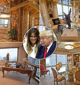 el-presidente Trump y Melania