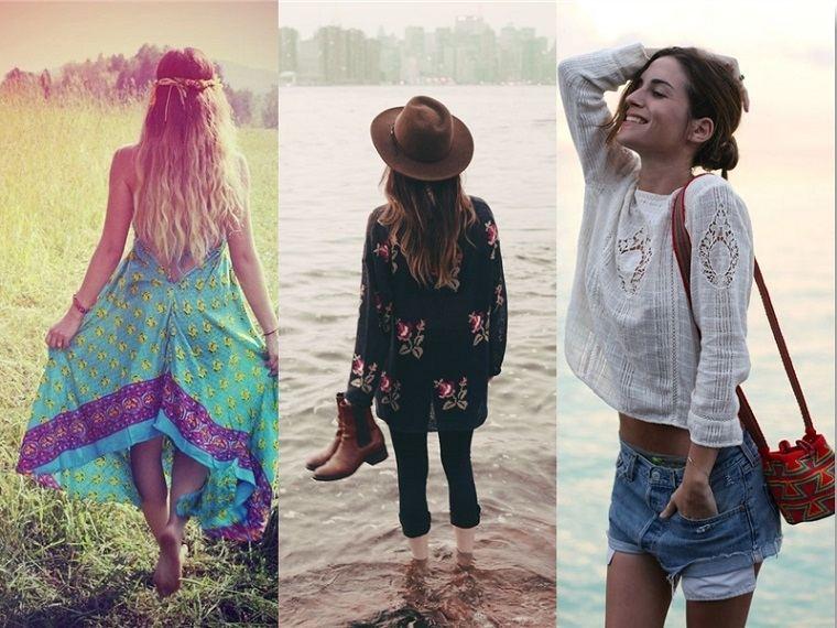 Tendencias en moda boho chic verano