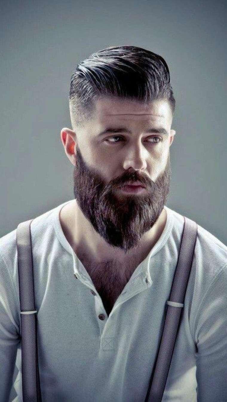 estilo de barba y bigote