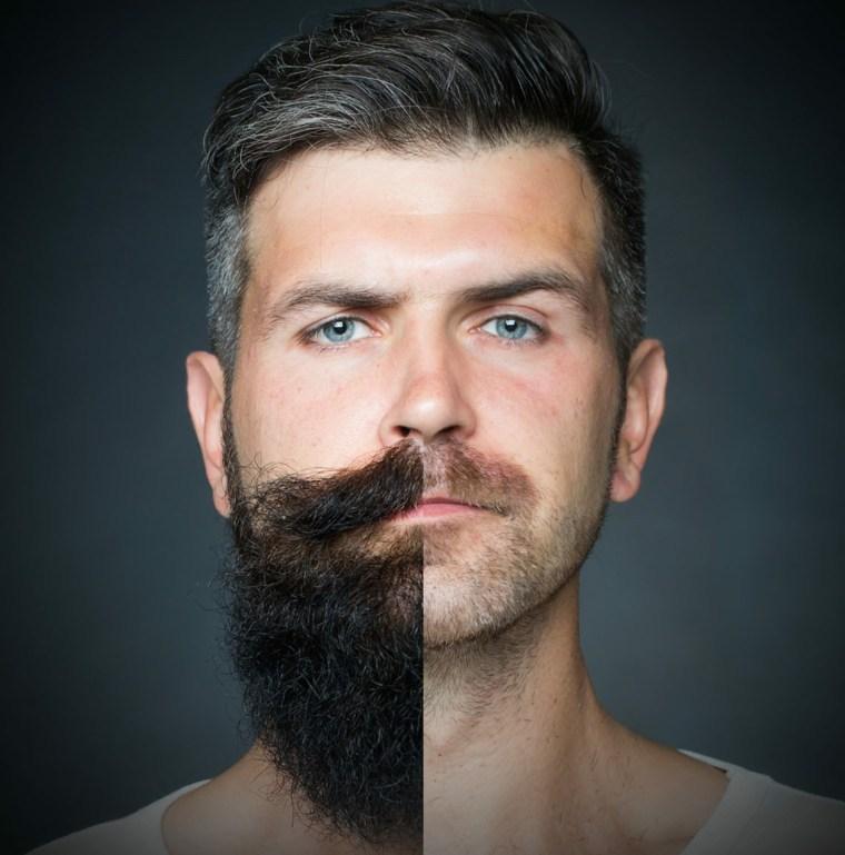 estilos de barbas