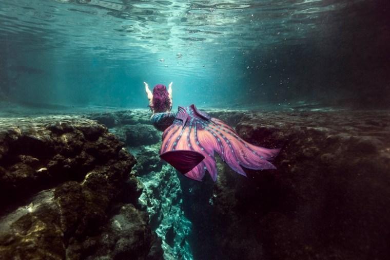 fotografía artística submarina