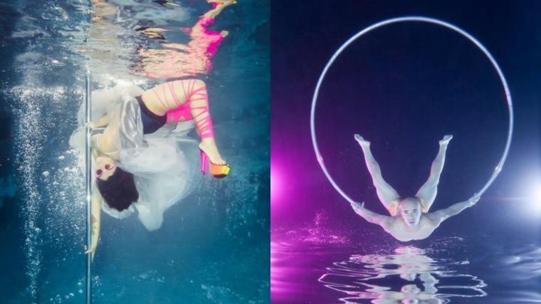 fotografías acuáticas artíisticas
