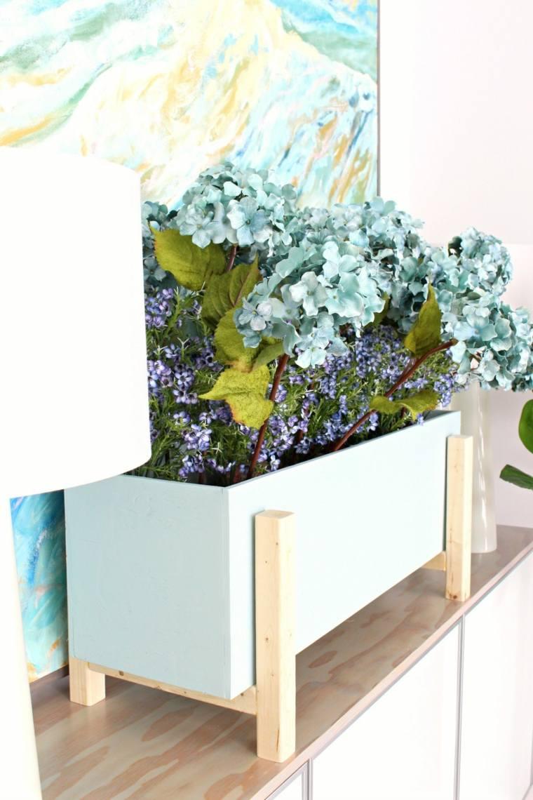 fotos-de-ramos-de-flores-caja-madera