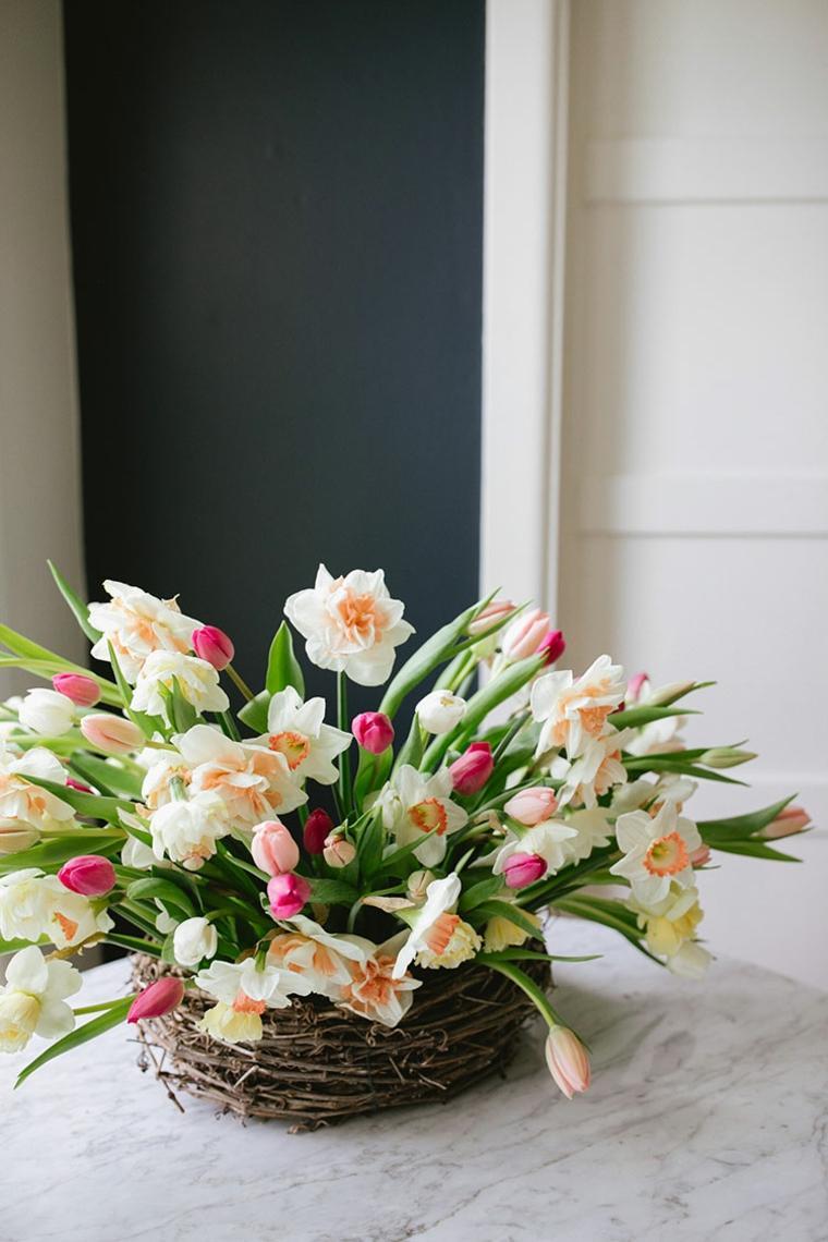 fotos-de-ramos-de-flores-primavera-mesa