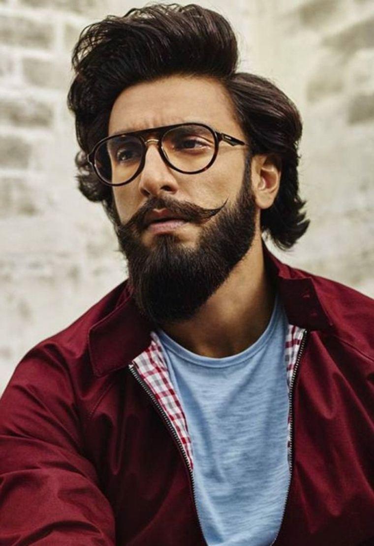 hombre sexy con barba