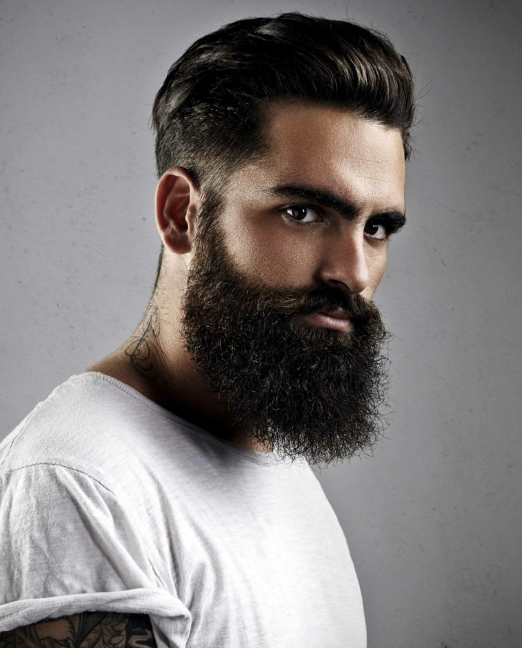 hombre-cabello-barba-negra-pompadour